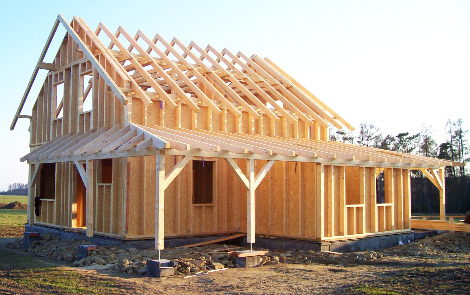 stylové domy - stavba svépomocí
